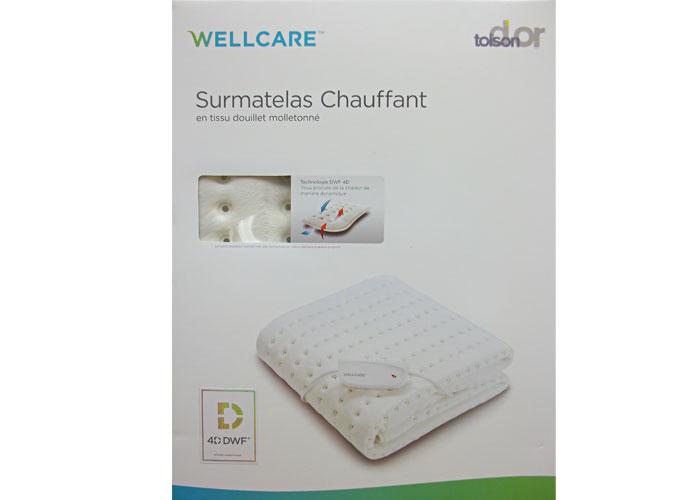 Surmatelas chauffant WELLCARE polaire confortable Cosy Fleece 0b3a7a678155