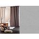 RIdeau METIS Col.91 gris ciment coton et lin 135x260 prêt à poser à oeillets ronds