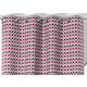 RIdeau SELENA Col.69 fushia polyester coton 140x245 prêt à poser oeillets ronds