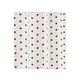 Rideau ETOILES Col.90 gris polyester coton 140x240 prêt à poser