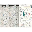 Rideau SPACE polyester coton 140x260 prêt à poser