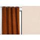 Rideau WALL STREET polyester CoL15 écru 145x260 prêt à poser oeillets ronds