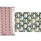 Rideau ALANIS Col.80 vert polyester 135x250 prêt à poser oeillets ronds