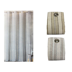 Rideau BAILLETA polyester coton 145x265 cm