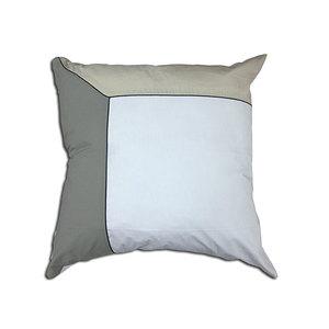 Taie d'oreiller 65x65 100% percale de coton 80 fils trio beige