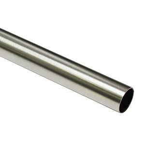Tringle à rideaux métal chrome diamètre 16 mm