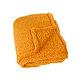 Plaid TEDDY 130x150 cm Col.30 uni safran