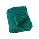 Plaid TEDDY 130x150 cm Col.89 uni vert