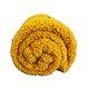 Plaid TEDDY uni polyester 130x150 cm effet laine de mouton