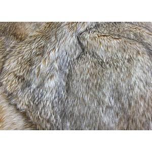 Tissu fausse fourrure renard