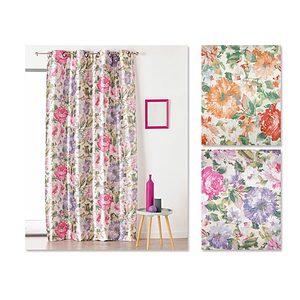 Rideau imprimé floral GINA 150x260 cm