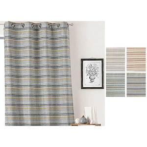 Rideau BABY MOON motif petits pois 135x260 cm