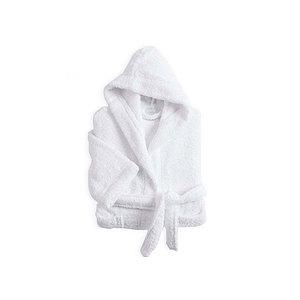 Peignoir enfant à capuche coton uni 420 g/m2 Tradition Des Vosges