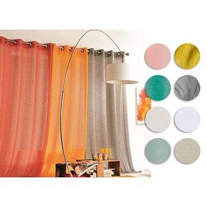 Voilage KAOLIN lin et polyester 150x240 cm