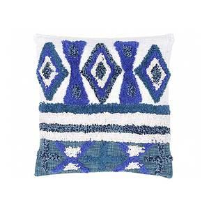 Cousssin jacquard FARO bleu