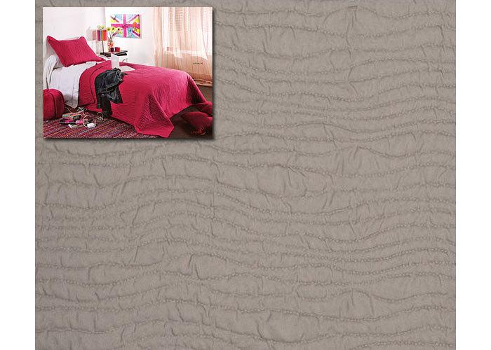 couvre lit boutis uni moderne mikado 180x240 cm pour lit une place de 90 ou 120 cm boutis pas. Black Bedroom Furniture Sets. Home Design Ideas