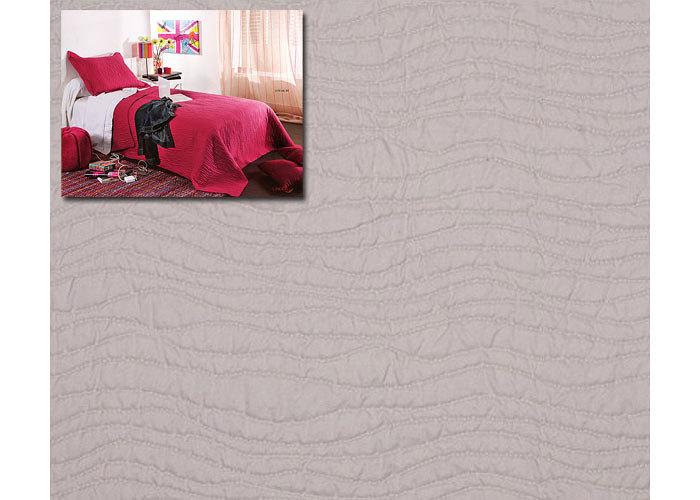 couvre lit boutis uni pas cher mikado 250x260 cm pour lit deux places de 160 ou 180 cm boutis. Black Bedroom Furniture Sets. Home Design Ideas