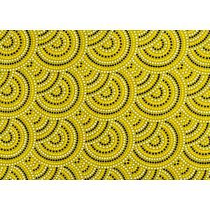 Tissu 100% coton imprimé SYDNEY en 150 cm de large