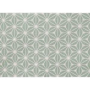Tissu 100% coton FUJI vert céladon 150 cm de large