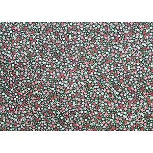 Tissu 100% coton VICTORIA myrtille 150 cm de large