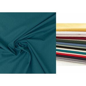 Tissu atlas uni coton et polyester en 280 cm de large