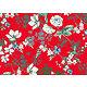 Tissu viscose ANAIS rouge laize 140 cm