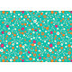 Tissu viscose ANNA turquoise laize 140 cm