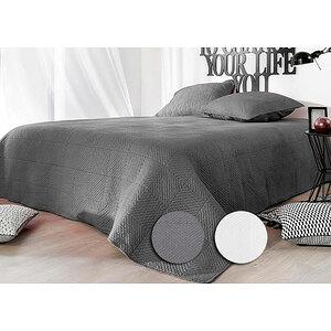 Couvre lit Boutis ALEXIA avec 2 taies d'oreiller