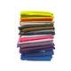 Tissu coton uni diabolo 280 cm de large - Echantillonnage de la gamme