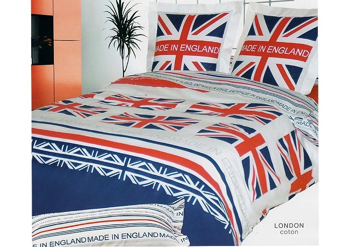 awesome latest housse de couette london au motif de lu. Black Bedroom Furniture Sets. Home Design Ideas