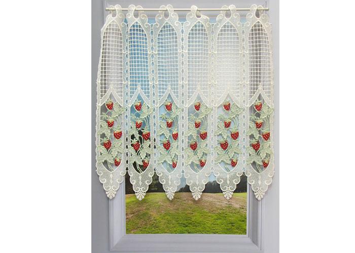 petit rideau cantonnière macramé - Petit rideau prêt à poser ...
