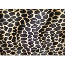 Tissu peau de bête Fausse fourrure Girafe
