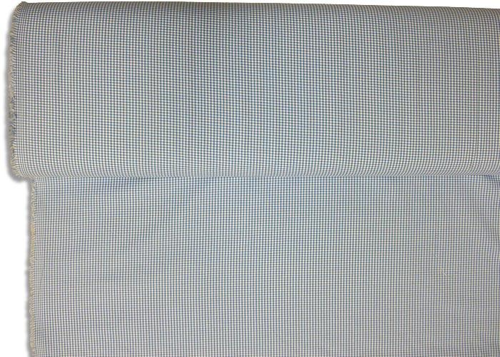tissu vichy bleu et blanc petits carreaux tissu au. Black Bedroom Furniture Sets. Home Design Ideas