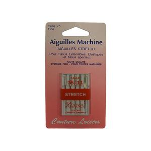 Aiguilles machine spéciales tissus élastiques type strech