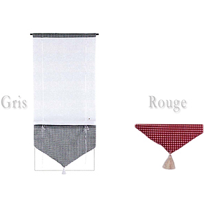 store tissu relevable avec passe tringle store. Black Bedroom Furniture Sets. Home Design Ideas