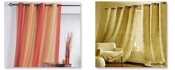 rideaux d coration rideau double rideaux voilage rideau rideaux occultant rideaux. Black Bedroom Furniture Sets. Home Design Ideas