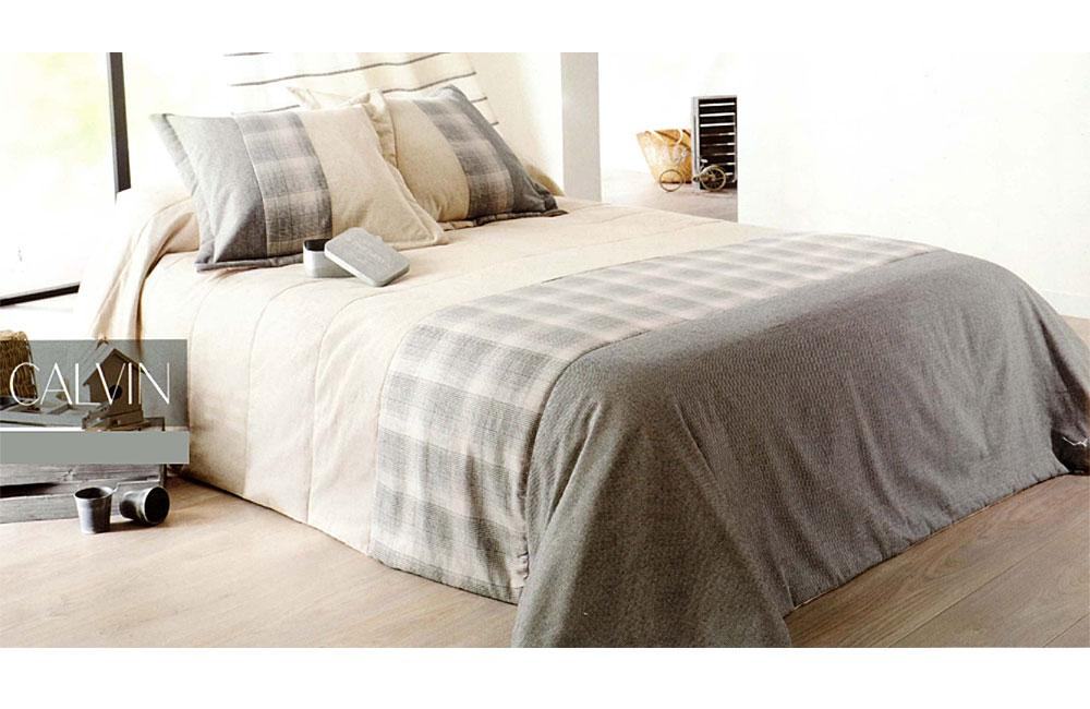 couvre lit calvin cossais et uni ebay. Black Bedroom Furniture Sets. Home Design Ideas