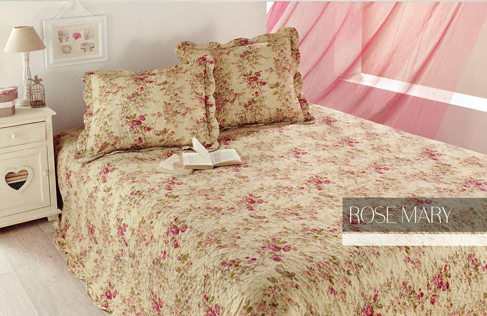 Couvre lit boutis fleuri rose mary 250x260 cm ebay for Royal tiss boutis