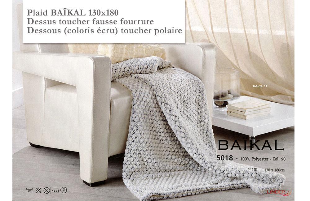 plaid ba kal toucher fausse fourrure et polaire plaid 130x180 grande taille. Black Bedroom Furniture Sets. Home Design Ideas