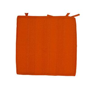 Galette de chaise a nouettes 40x40 Coloris unis Modèle SUNSHINE